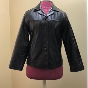 Kids Genuine Leather Jacket